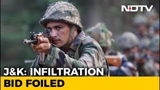 Infiltration Bid Foiled In North Kashmir's Tangdhar, 4 Terrorists Killed - NDTV