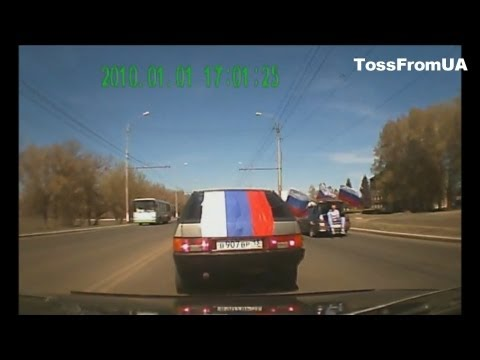 New Russia Car Crash Compilation May 2013.