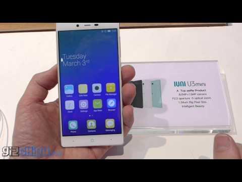MWC 2015 IUNI U3 Mini