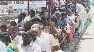 Rush Continue at Tirumala | 15 Hours For Sarvadarshan | iNews - INEWS