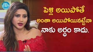 Post Marriage Life remains Same - Serial Actress Rishika | Soap Stars with Anitha #52 |iDream Movies - IDREAMMOVIES