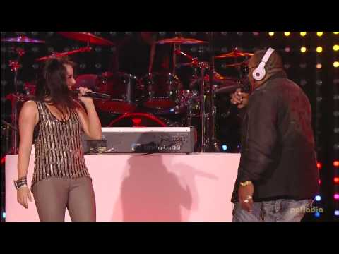 JoJo & Timbaland - Lose control (Live at Pepsi Super Bowl Fan Jam) [HD]