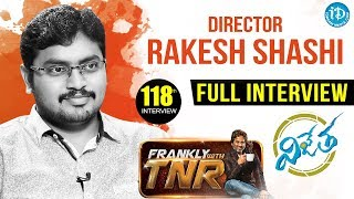Frankly With TNR #118 - Full Interview || Talking Movies With iDream - IDREAMMOVIES
