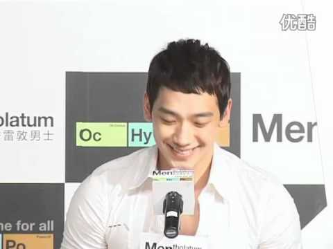 [Rain (Bi) News]110413 Youku_Rain @ Mentholatum Press Con in Shanghai