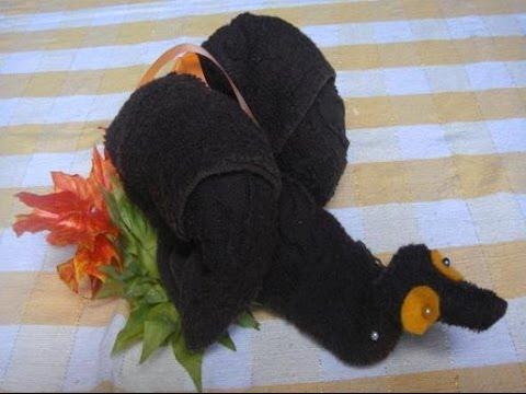 Cara Membuat Boneka Siput Dari Handuk