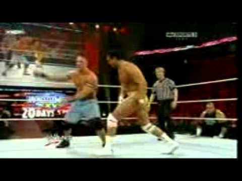 WWE Night of Champions 2011: John Cena vs. Alberto Del Rio - WWE Championship