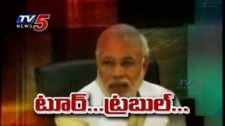 Controversy On Narendra Modi Nepal Tour : TV5 News - TV5NEWSCHANNEL