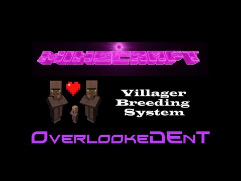 Villager Breeding System - Minecraft Xbox 360/PS3 - [Tutorial]