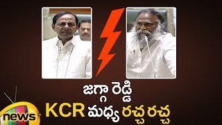 Words War Between KCR And Jagga Reddy About Medical College | Telangana Assembly Session |Mango News - MANGONEWS
