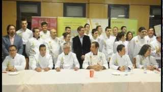 Jonatan Carreño, ganador del Concurso de Jóvenes Cocineros