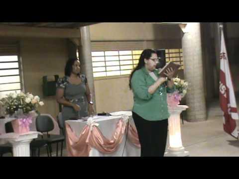 1° vídeo-  Congresso de mocidade: Igreja pentecostal Deus é Amor