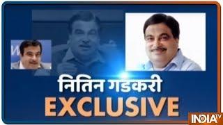 Nitin Gadkari Exclusive Interview With IndiaTV - INDIATV