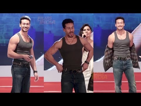 Tiger Shroff's Amazing Stunt With Hot Girl At Macho Hint Event