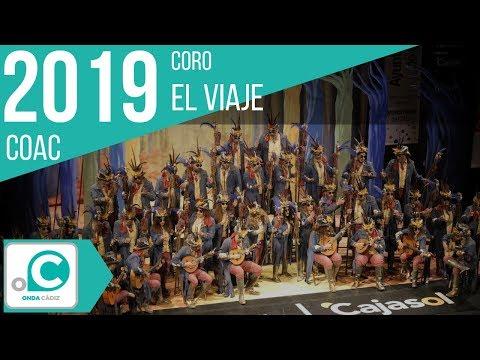 La agrupación El viaje llega al COAC 2019 en la modalidad de Coros. En años anteriores (2018) concursaron en el Teatro Falla como La Comuna, consiguiendo una clasificación en el concurso de Preliminares.