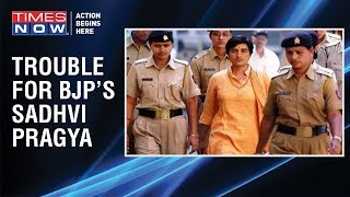 Complaint filed with Election Commission against BJP's Bhopal candidate Sadhvi Pragya - TIMESNOWONLINE
