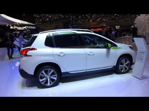 2008 PEUGEOT SUV CROSSOVER NEW CAR SALON AUTO GENEVE GENEVA 2013 АВТОМОБИЛЬ ЖЕНЕВА