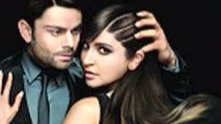 Anushka Sharma kissed by Virat Kohli