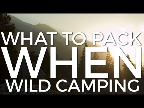 What to Pack When Wild Camping - www.simplyhike.co.uk