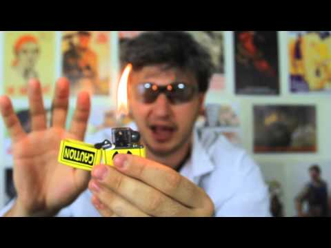 Fire Hand Zippo Lighter Magic Trick