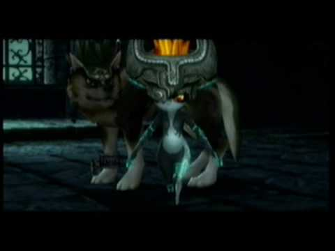 twilight princess- zelda sacrifices for midna