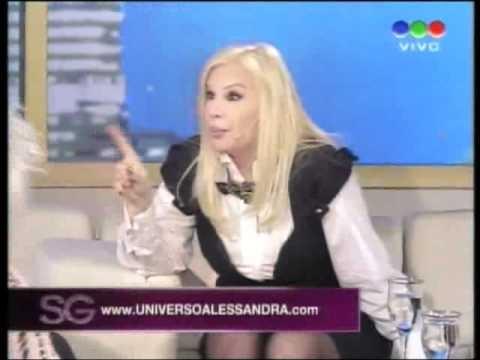 La abuela y Alessandra Rampolla - Susana Gimenez 2010 [Parte 1/3]