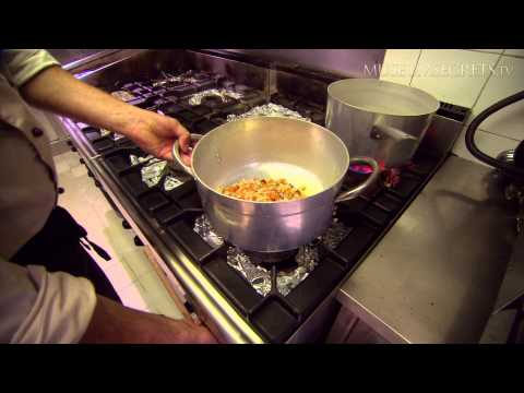 Cooking Lesson: Wild boar at an osteria/restaurant in Florence, Italy