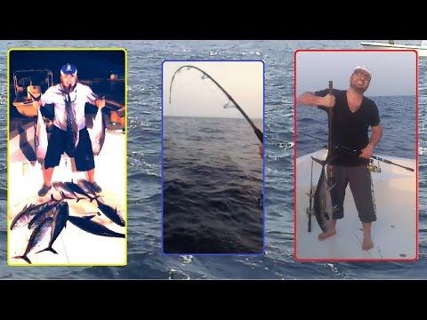 Tuna frenzy (Long tail) UAE صيد تونا قباب صدا كلبا