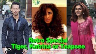 Retro Special: Katrina, Taapsee & Tiger bring back 70's - IANSINDIA