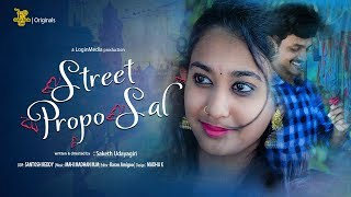 Street Proposal  | a cute proposal ever |  Saketh Udayagiri | ColourSoda 2018 - YOUTUBE