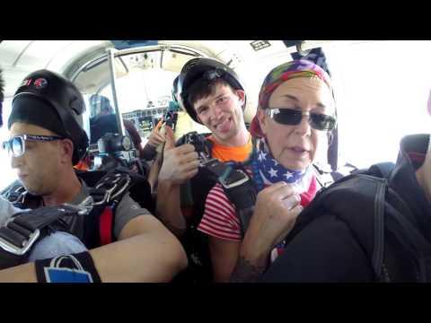 Diane Aston's Tandem skydive!