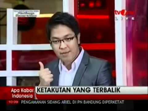 KETAKUTAN YANG TERBALIK part 2- Wahyu Winoto & Bong Chandra @ Apa Kabar Indonesia TV One