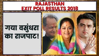 Rajasthan Exit Poll Result 2018   Exit Poll 2018 Rajasthan   Rajasthan Assembly Election 2018 - ITVNEWSINDIA