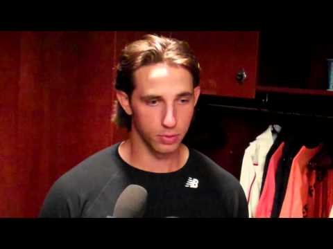 Madison Bumgarner after dealing with a weird strike zone