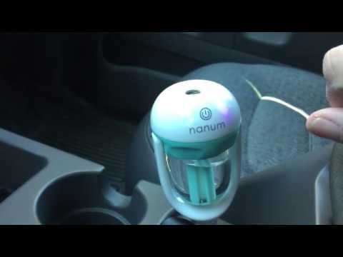 Anseahawk Car Air Humidifier and Aromatherapy Essential Oil Diffuser