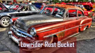 Royalty Free Lowrider Rust Bucket:Lowrider Rust Bucket