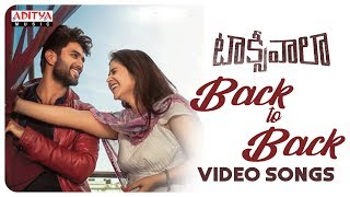 Taxiwaala Back to Back Video Songs | Taxiwaala Video Songs | Vijay Deverakonda, Priyanka jawalkar - ADITYAMUSIC