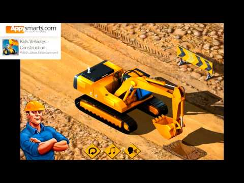 Kids Construction Machines (Bulldozer, Excavator, Concrete Mixer & Diggers and other Vehicles)