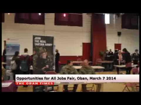 Oban Careers and Job Fair March 6 2014