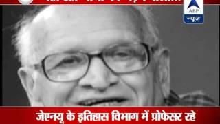 Noted historian Bipan Chandra dies at 86 - ABPNEWSTV