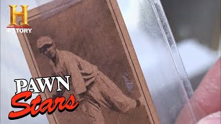 Pawn Stars: 1915 Babe Ruth Baseball Card (Season 7) | History - HISTORYCHANNEL