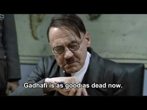 Hitler finds out that Osama bin Laden is dead