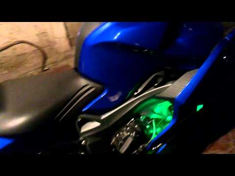 BMW 1300 RGB LED TUNING , LED RGB MOTO Y AUTOS CHILE