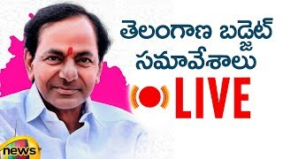 Telangana Assembly Budget Session Live | CM KCR Presents Vote On Account Budget | Mango News - MANGONEWS