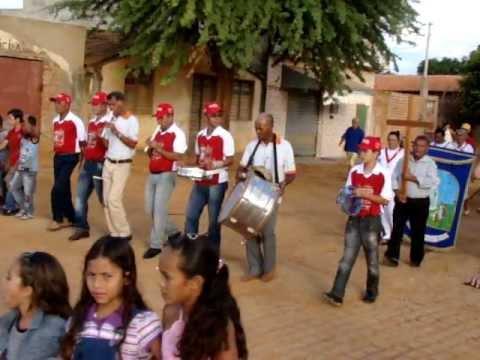 Procissão de Nossa Senhora de Fátima 2011 padroeira de Salobro Ba