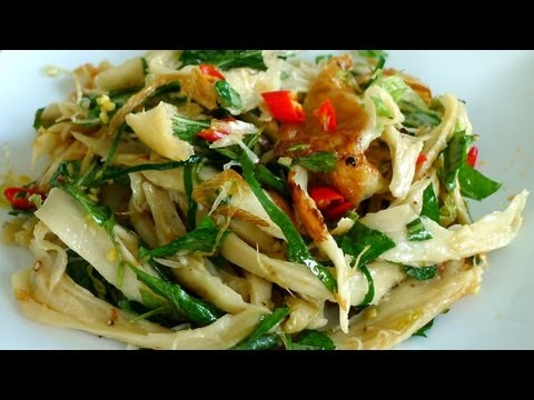 Vegetarian Chicken Salad - Goi Ga Chay