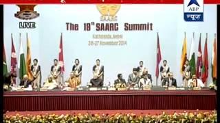 SAARC Summit begins l Modi Sharif avoid gaze - ABPNEWSTV