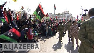 🇱🇾 Libya celebrating 7th anniversary of the revolution - ALJAZEERAENGLISH