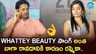 Rashmika Deserves All The Credit - Nithiin | Bheeshma Team Funny Interview | Venky Kudumula - IDREAMMOVIES