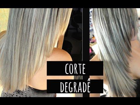Como cortar o cabelo, CORTE DEGRADÊ - Guia do Cabeleireiro Por Tatiana Lobo.