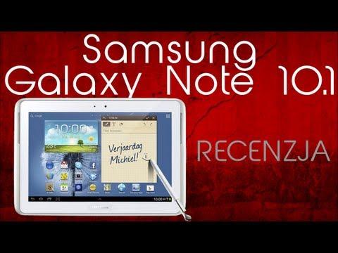 [Mobileo #35] Recenzja Samsung Galaxy Note 10.1   Test PL
